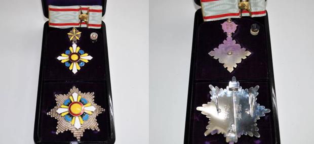 満州国勲章 勲二位景雲章・勲一位景雲章の価値と買取価格