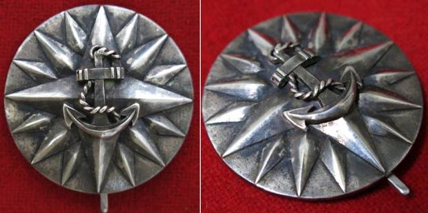 旧型海軍大学校卒業徽章