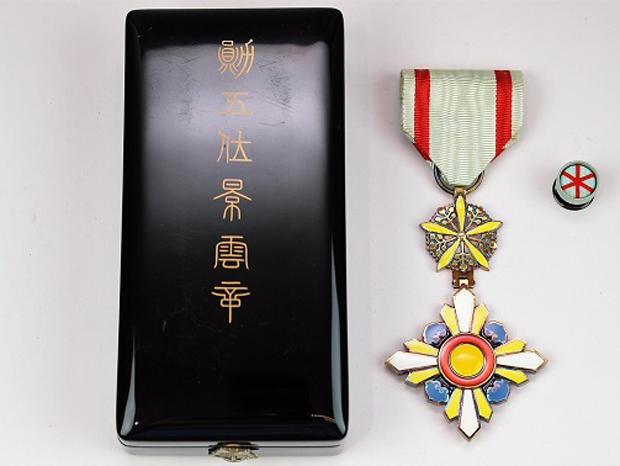 満州国 勲五位景雲章