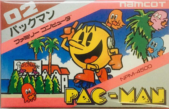 ファミコン版パックマン