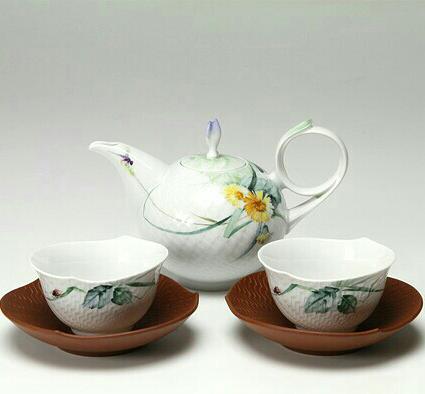 マイセン 森の声 日本茶セット