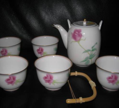ローズガーデン 茶器セット