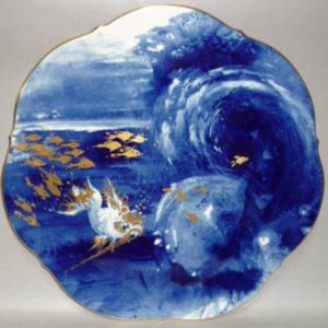 1995年 海の戯れ イヤープレート