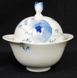 青い花 シュガーポット