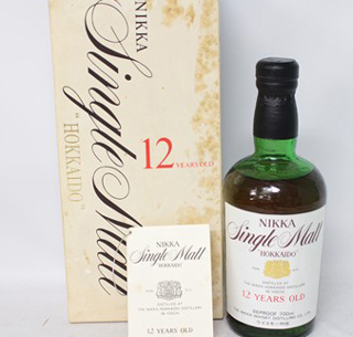 ニッカ北海道ウイスキーの価値と買取相場