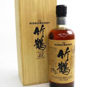 ニッカ(NIKKA)竹鶴35年