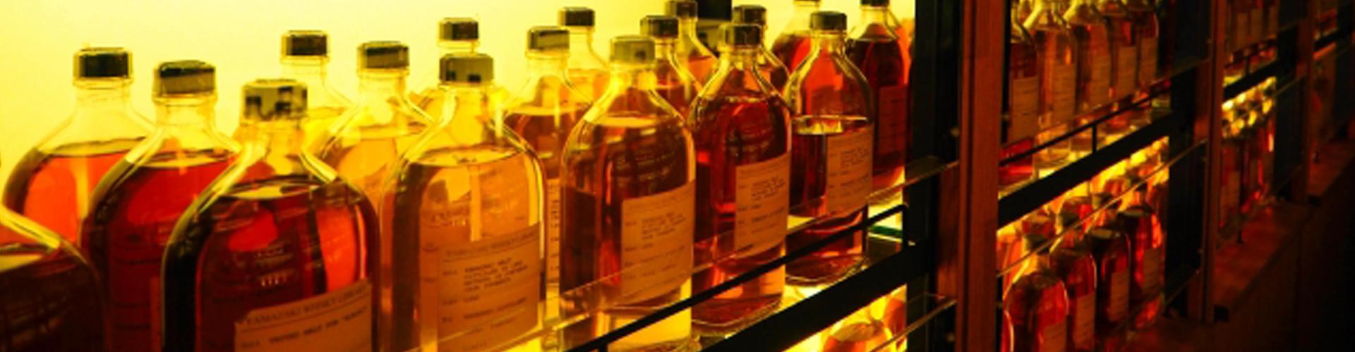 ウイスキーのコレクション